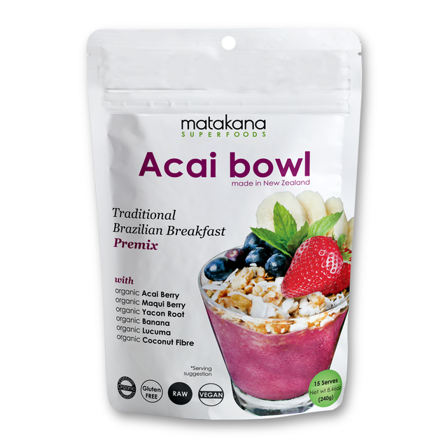 Matakana Superfood Acai Bowl