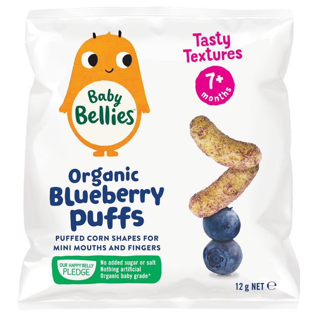 Little Bellies Organic Blueberry Puffs