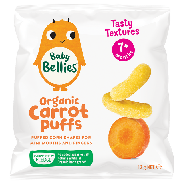 Little Bellies Organic Carrot Puffs