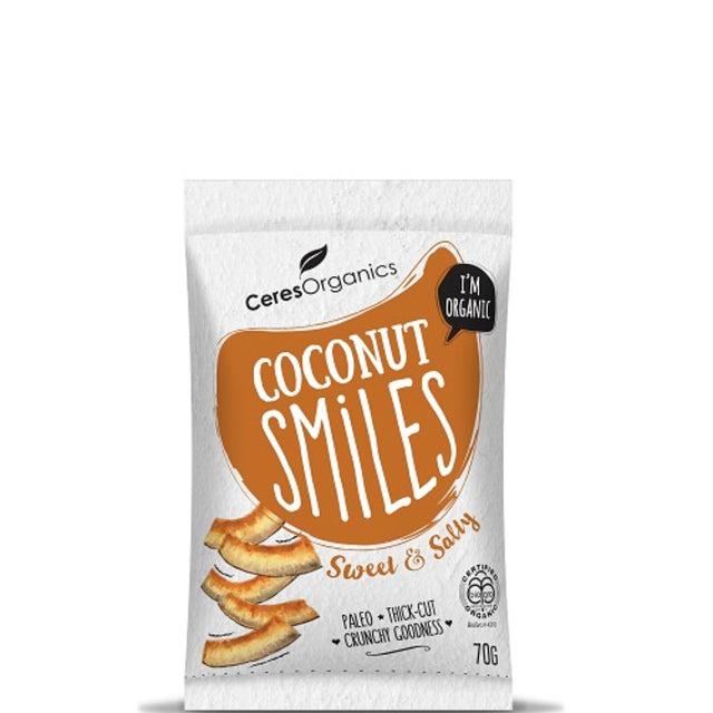 Ceres Organics Sweet & Salty Coconut Smiles