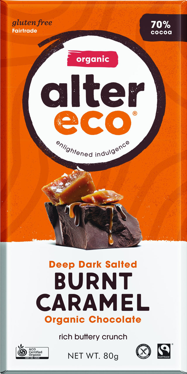 Alter Eco Burnt Caramel Chocolate