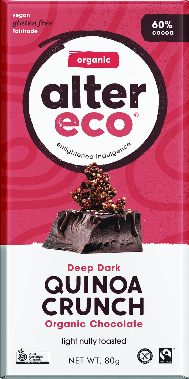 Alter Eco Dark Quinoa Chocolate