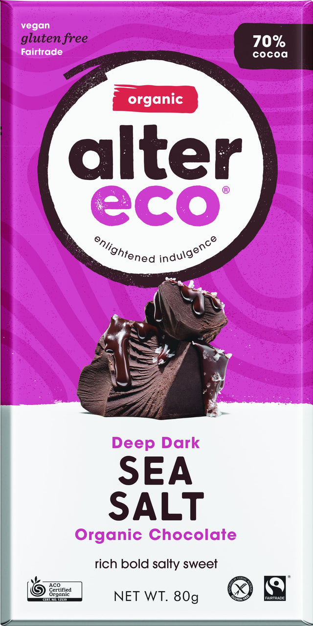 Alter Eco Dark Sea Salt Chocolate