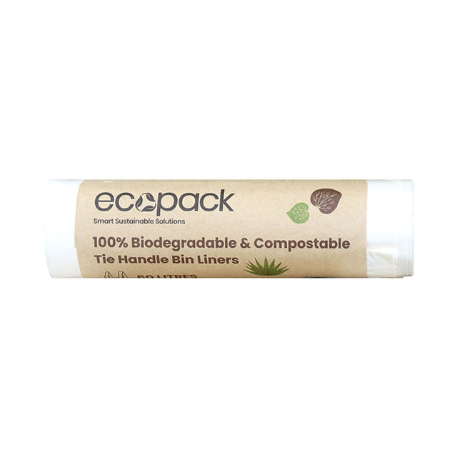 Ecopack Kitchen Tidy Liners 60L