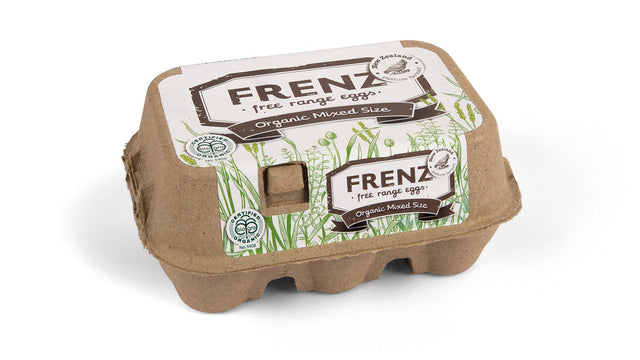 Frenz Organic Eggs 6 pack