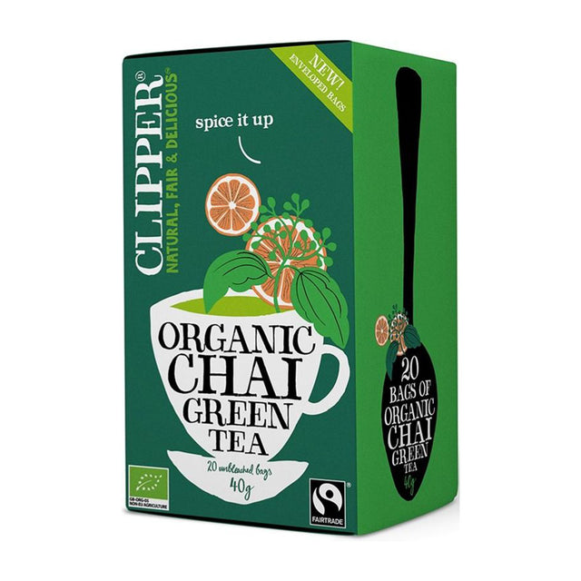 Clipper Organic Chai Green Tea