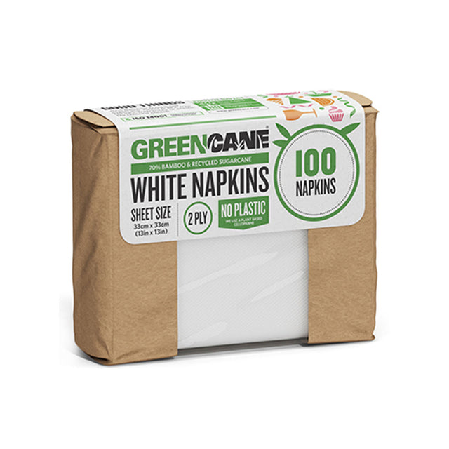 Greencane White Napkins