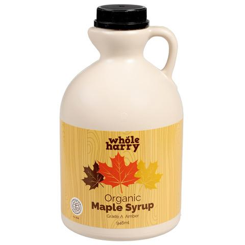 Whole Harry Amber Maple Syrup