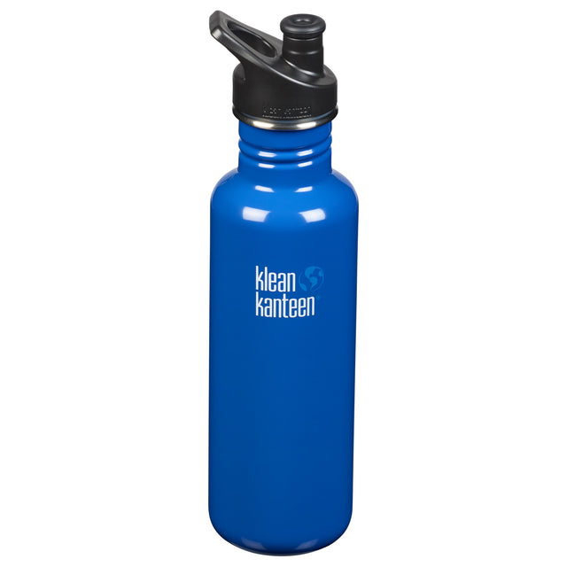 Klean Kanteen Coastal Blue Classic Drink Bottle