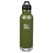 Klean Kanteen Khaki Olive Classic Insulated Drink Bottle