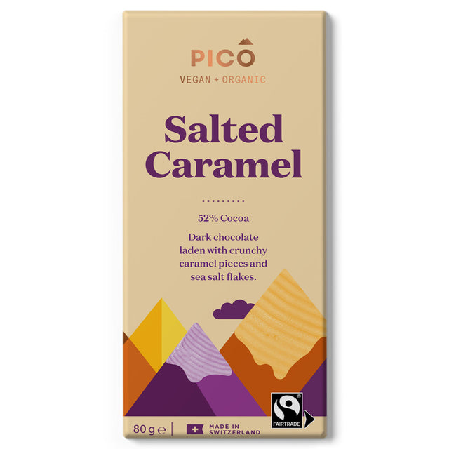 Pico Organic Vegan Chocolate Salted Caramel