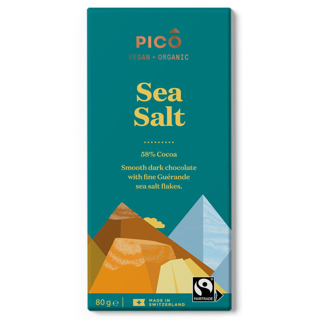 Pico Organic Vegan Chocolate Sea Salt