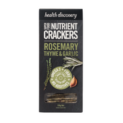 Health Discovery Rosemary Crackers