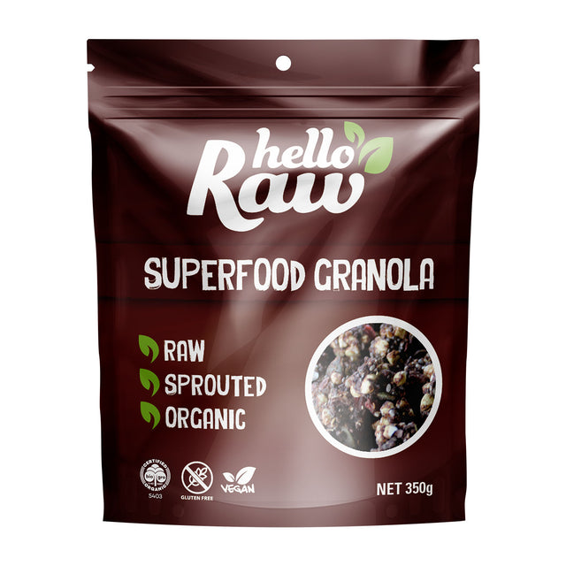 Hello RawSuperfood Granola