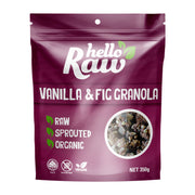 Hello Raw Vanilla & Fig Granola