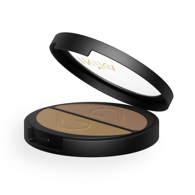 Inika Eyeshadow Duo Gold Oyster