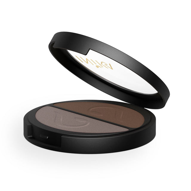 Inika Eyeshadow Duo Chocolate Coffee