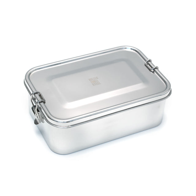 Meals in Steel Lunch Box Leakproof Rectangle