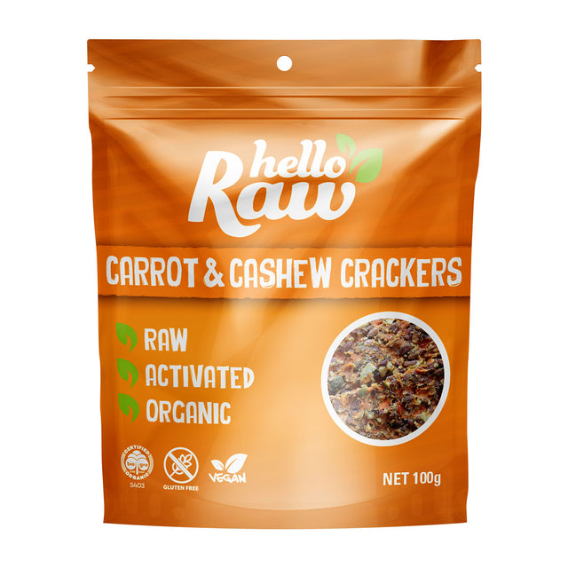 Hello Raw Carrot Crackers