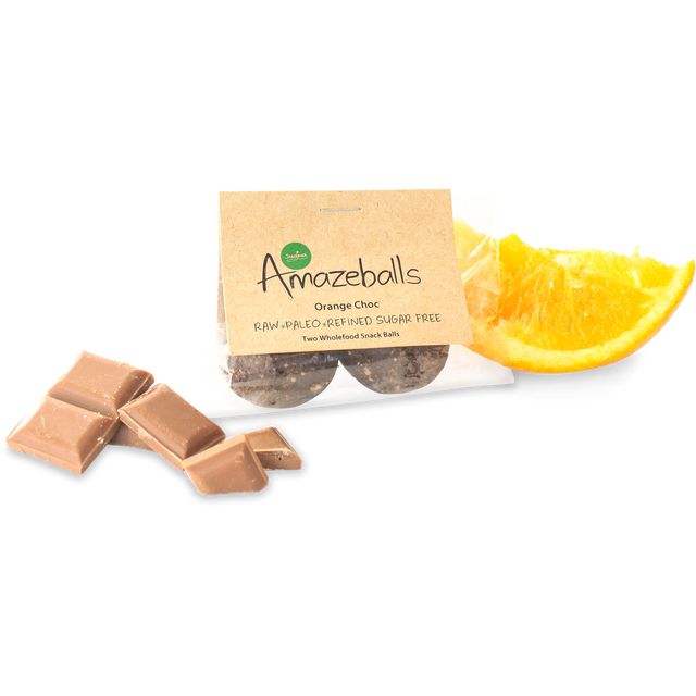 Snack Pack Orange Chocolate Amazeballs