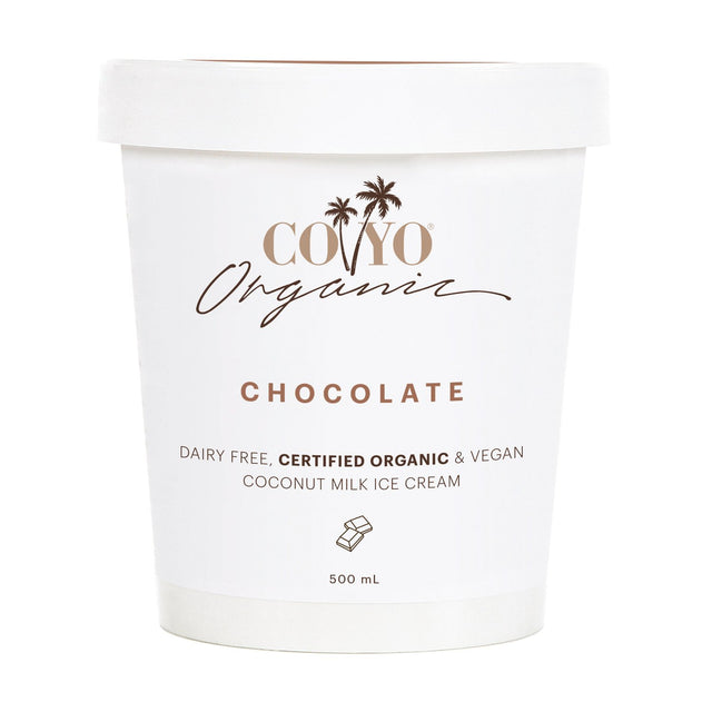 Coyo Organic Coconut Ice Cream Chocolate