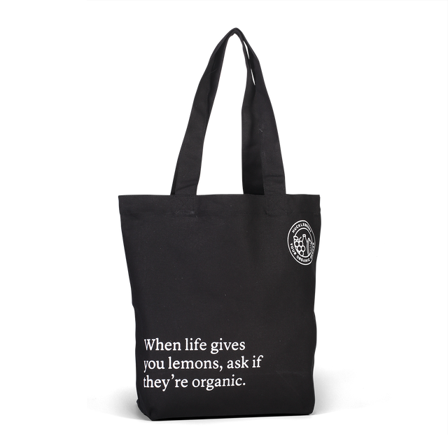 Huckleberry Tote Bag When Life Gives You Lemons