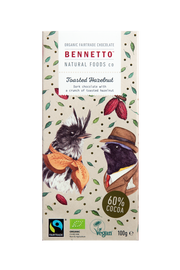 Bennetto Toasted Hazelnut Chocolate