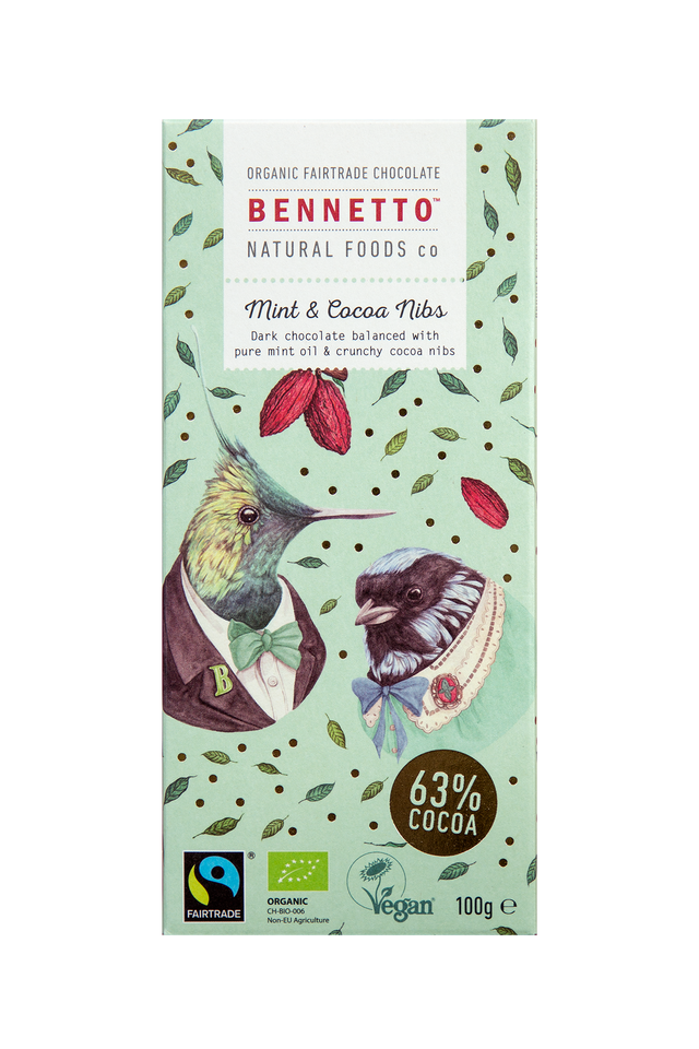 Bennetto Mint Cacao Chocolate