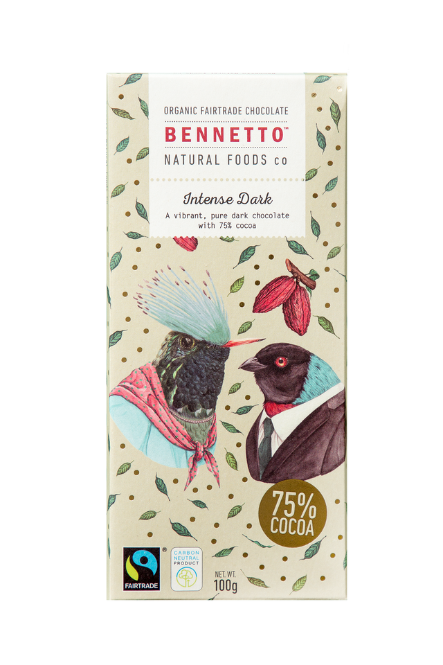 Bennetto Intense Dark Chocolate