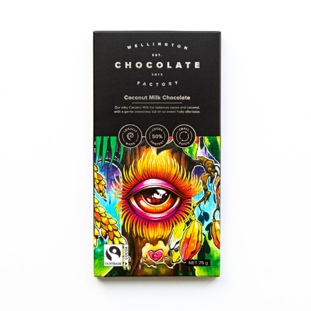 Wellington Chocolate Factory Coconut Milk Chocolate Bar
