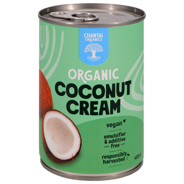 Chantal Organics Coconut Cream