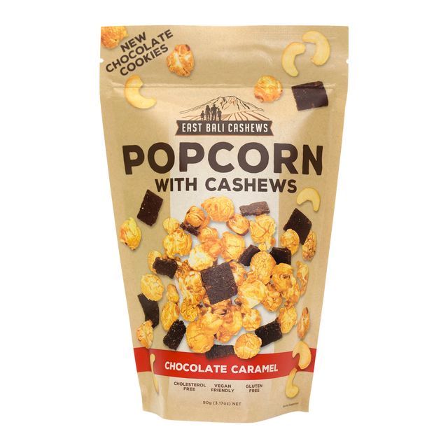 East Bali Chocolate & Caramel Popcorn