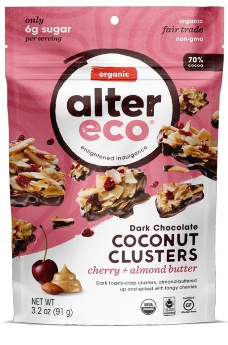 Alter Eco Cherry & Almond Coconut Clusters
