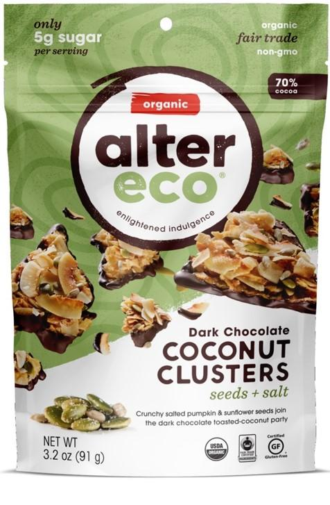 Alter Eco Seeds & Salt Coconut Clusters
