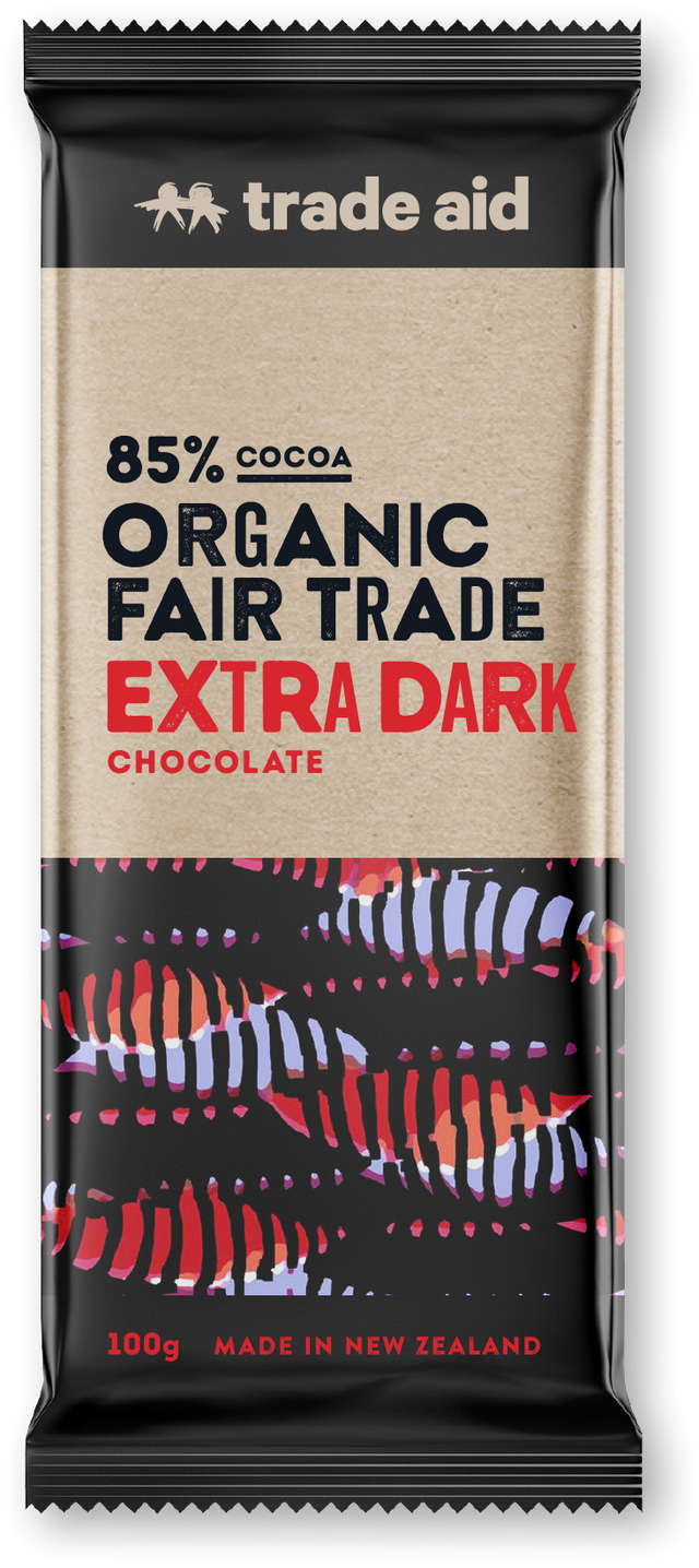 Trade Aid 85% Dark Chocolate