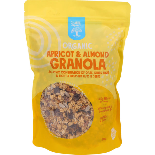 Chantal Organics Apricot & Almond Grainola