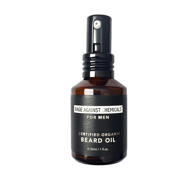 Rage Against Chemicals Organic Men's Beard Oil
