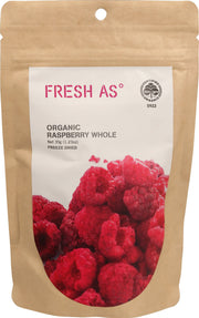 Fresh As Organic Dried Raspberries