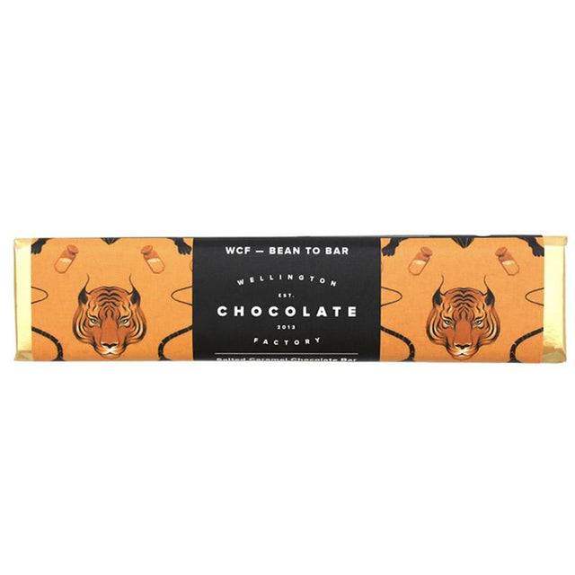 Wellington Chocolate Factory Salted Caramel Chocolate Bar