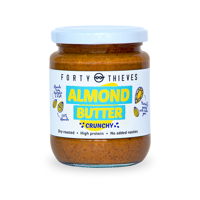 Forty Thieves Almond Butter Crunchy