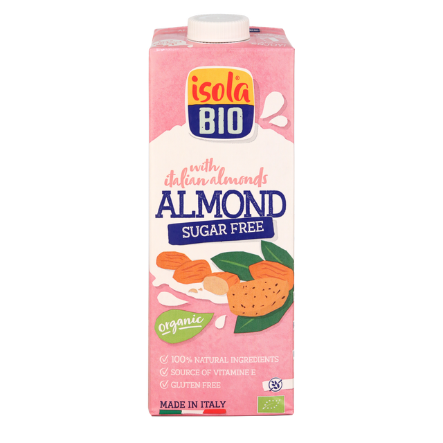 Isola Organic Almond Milk Sugarfree