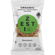 Zesti Organic Sunflower Snacks Rosemary