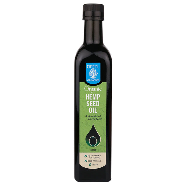 Chantal Organic Hemp Seed Oil