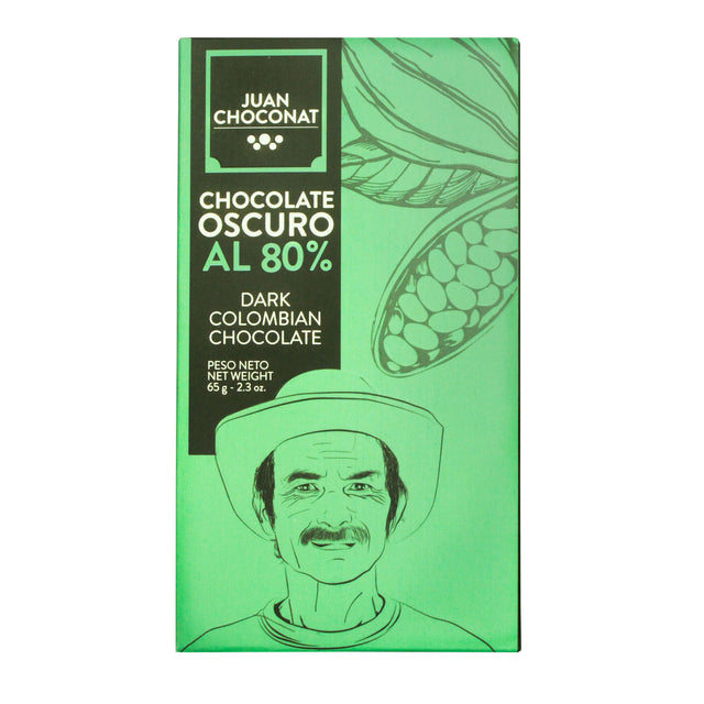 Juan Choconat 80% Dark Colombian Chocolate