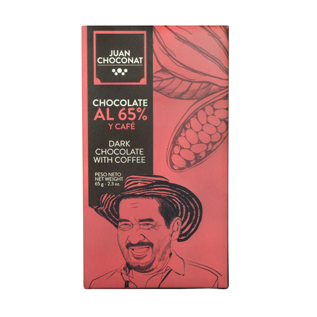Juan Choconat 65% Dark Chocolate With Coffee