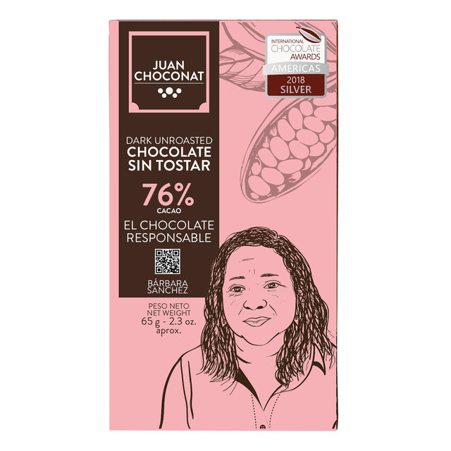 Juan Choconat 76% Dark Unroasted Chocolate