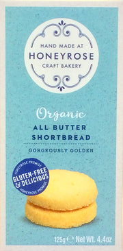 Honey Rose Organic Shortbread