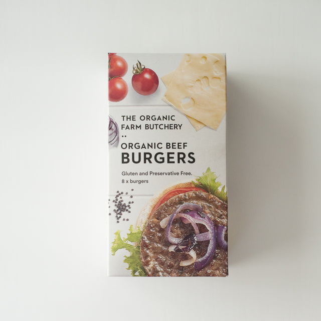 The Organic Farm Butchery Beef Burger Patties
