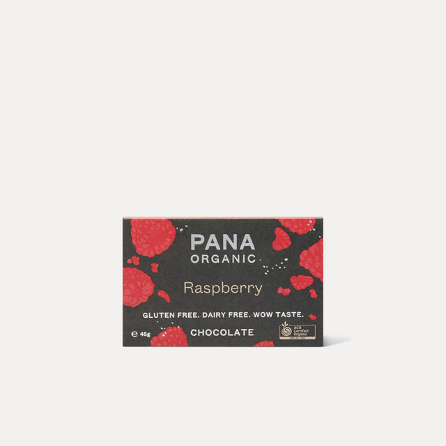 Pana Organic Raspberry Dark Chocolate
