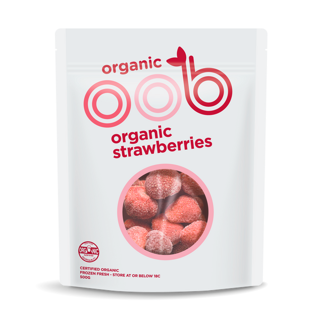 oob Organic Frozen Strawberries